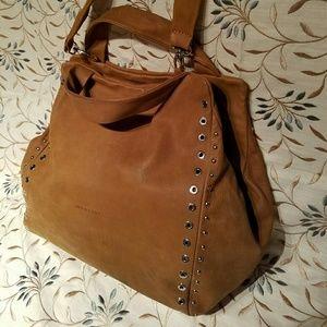 Handbags - Womens Montini Tan Leather Handbag